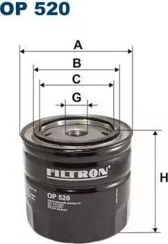 Filtron OP520 - Фильтр, Гидравлическая система привода рабочего оборудования avtodrive.by