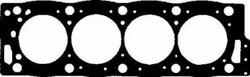 Glaser H50161-00 - Прокладка, головка цилиндра avtodrive.by
