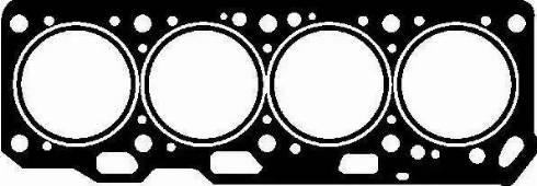 Glaser H04125-00 - Прокладка, головка цилиндра avtodrive.by