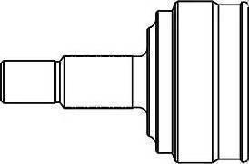 GSP 841001 - Шарнирный комплект, ШРУС, приводной вал avtodrive.by
