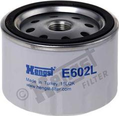 Hengst Filter E602L - Воздушный фильтр, компрессор - подсос воздуха avtodrive.by