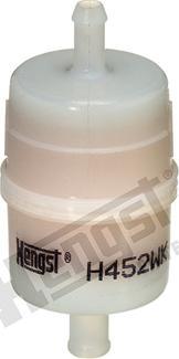 Hengst Filter H452WK - Воздушный фильтр, компрессор - подсос воздуха avtodrive.by