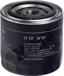 Hengst Filter H10W01 - Воздушный фильтр, компрессор - подсос воздуха avtodrive.by