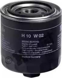 Hengst Filter H10W02 - Воздушный фильтр, компрессор - подсос воздуха avtodrive.by
