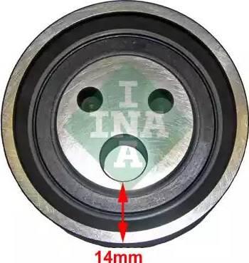 INA 531 0818 10 - Натяжной ролик, ремень ГРМ avtodrive.by