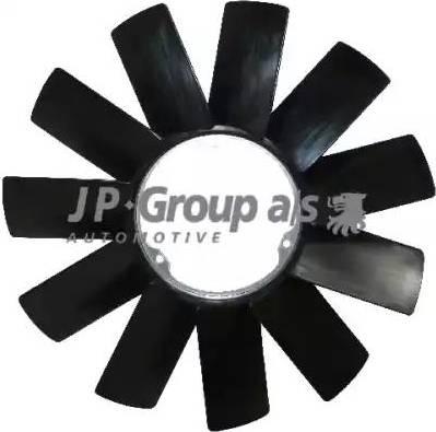 JP Group 1414900800 - Крыльчатка вентилятора, охлаждение двигателя avtodrive.by