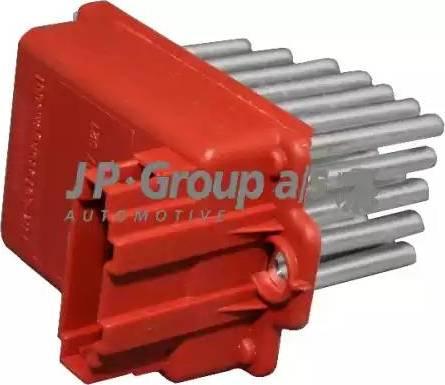 JP Group 1196850500 - Сопротивление, реле, вентилятор салона avtodrive.by