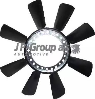 JP Group 1114900300 - Крыльчатка вентилятора, охлаждение двигателя avtodrive.by