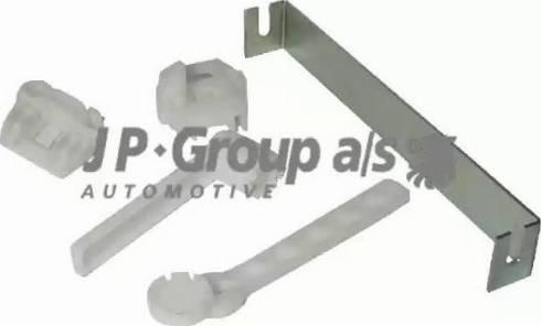 JP Group 1188150510 - Плавающая колодка, стеклоподъемник avtodrive.by
