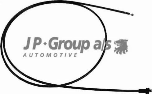 JP Group 1170700600 - Тросик замка капота avtodrive.by