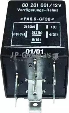 JP Group 1299200300 - Реле, интервал включения стеклоочистителя avtodrive.by