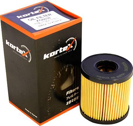 Kortex KO0038 - Масляный фильтр avtodrive.by