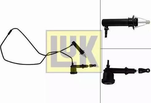 LUK 513006610 - Главный / рабочий цилиндр, система сцепления avtodrive.by