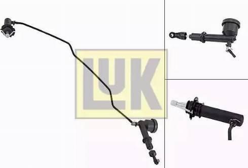 LUK 513007710 - Главный / рабочий цилиндр, система сцепления avtodrive.by
