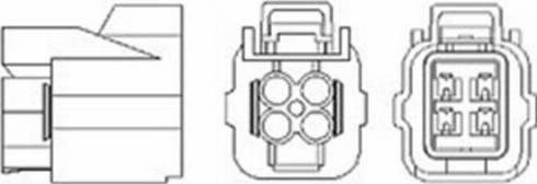 Magneti Marelli 466016355054 - Лямбда-зонд, датчик кислорода avtodrive.by