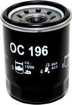 Mahle Original OC 196 - Масляный фильтр avtodrive.by