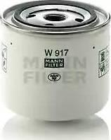 Mann-Filter W 917 - Фильтр, Гидравлическая система привода рабочего оборудования avtodrive.by