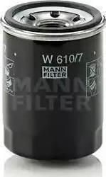 Mann-Filter W 610/7 - Масляный фильтр avtodrive.by