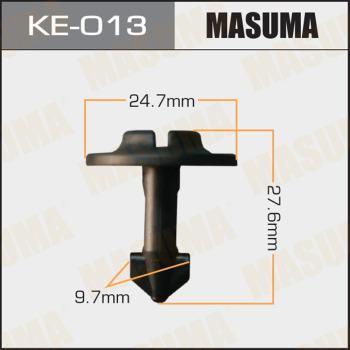 MASUMA KE013 - Зажим, молдинг / защитная накладка avtodrive.by
