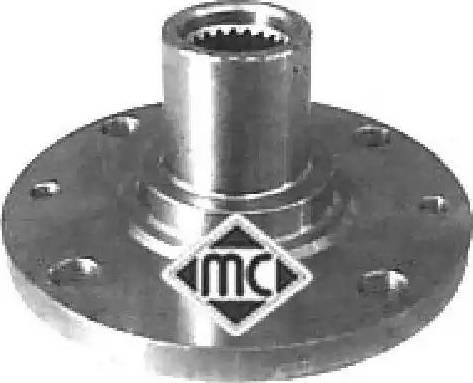 Metalcaucho 90002 - Ступица колеса, поворотный кулак avtodrive.by