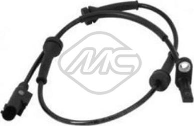Metalcaucho 50221 - Датчик ABS, частота вращения колеса avtodrive.by