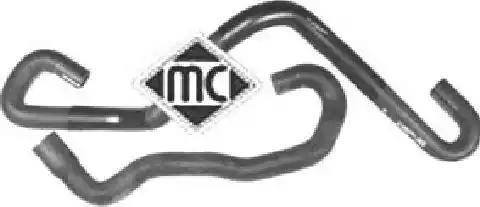 Metalcaucho 09098 - Шланг, теплообменник - отопление avtodrive.by