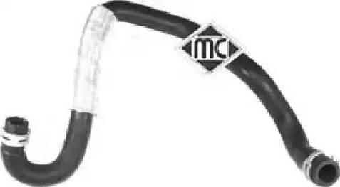 Metalcaucho 09128 - Шланг, теплообменник - отопление avtodrive.by