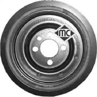 Metalcaucho 04494 - Ременный шкив, коленчатый вал avtodrive.by