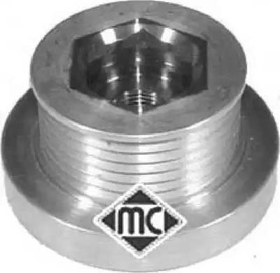 Metalcaucho 04729 - Шкив, муфта генератора avtodrive.by