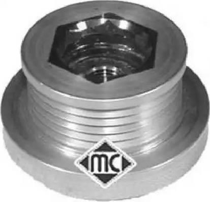 Metalcaucho 04728 - Шкив, муфта генератора avtodrive.by