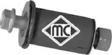 Metalcaucho 05037 - Ремкомплект, направляющий, маятниковый рычаг avtodrive.by