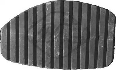 Metalcaucho 06184 - Накладка на педаль, педаль сцепления avtodrive.by