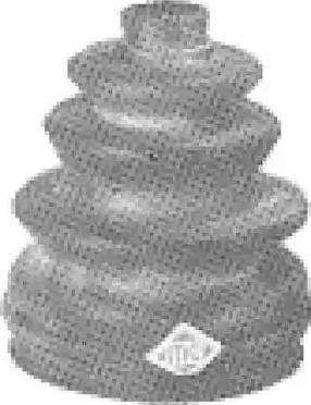 Metalcaucho 00493 - Пыльник, приводной вал avtodrive.by
