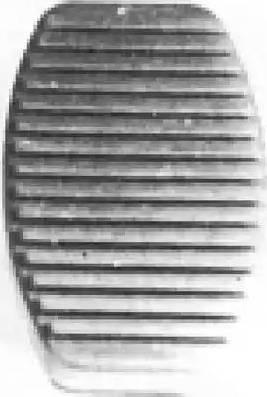 Metalcaucho 00413 - Накладка на педаль, педаль сцепления avtodrive.by