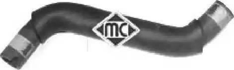 Metalcaucho 08580 - Шланг, теплообменник - отопление avtodrive.by