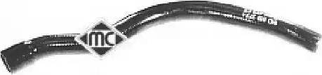 Metalcaucho 08393 - Шланг, теплообменник - отопление avtodrive.by