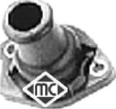 Metalcaucho 03517 - Фланец охлаждающей жидкости avtodrive.by