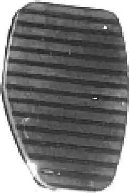 Metalcaucho 02771 - Накладка на педаль, педаль сцепления avtodrive.by