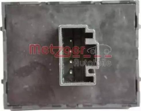 Metzger 0916307 - Выключатель, стеклоподъемник avtodrive.by