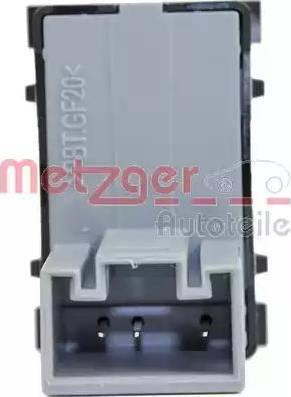 Metzger 0916373 - Выключатель, стеклоподъемник avtodrive.by
