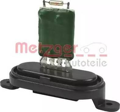Metzger 0917066 - Сопротивление, реле, вентилятор салона avtodrive.by