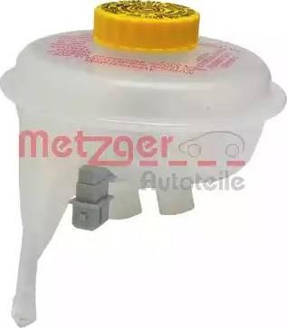 Metzger 2140032 - Компенсационный бак, тормозная жидкость avtodrive.by