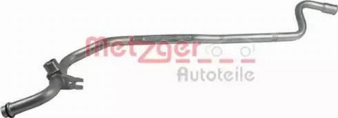 Metzger 2360040 - Трубопровод высокого / низкого давления, кондиционер avtodrive.by