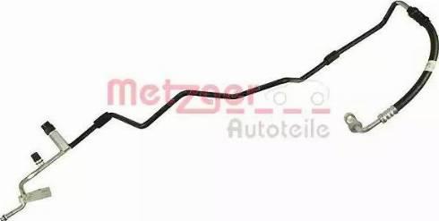 Metzger 2360003 - Трубопровод высокого / низкого давления, кондиционер avtodrive.by