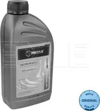 Meyle 014 019 2600 - Масло ступенчатой коробки передач avtodrive.by