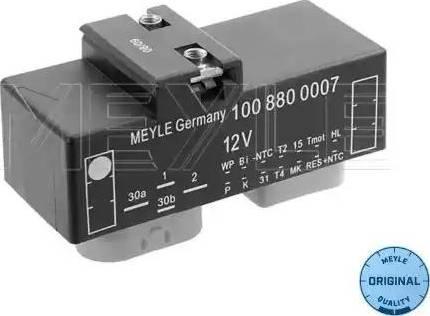 Meyle 100 880 0007 - Блок управления, эл. вентилятор (охлаждение двигателя) avtodrive.by