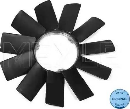 Meyle 3001150002 - Крыльчатка вентилятора, охлаждение двигателя avtodrive.by