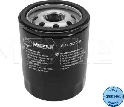 Meyle 32-14 322 0004 - Масляный фильтр avtodrive.by