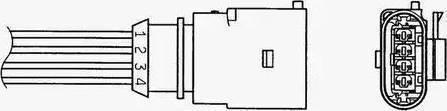 NGK 0049 - Лямбда-зонд, датчик кислорода avtodrive.by