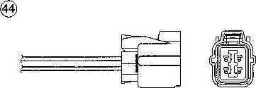 NGK 0277 - Лямбда-зонд, датчик кислорода avtodrive.by